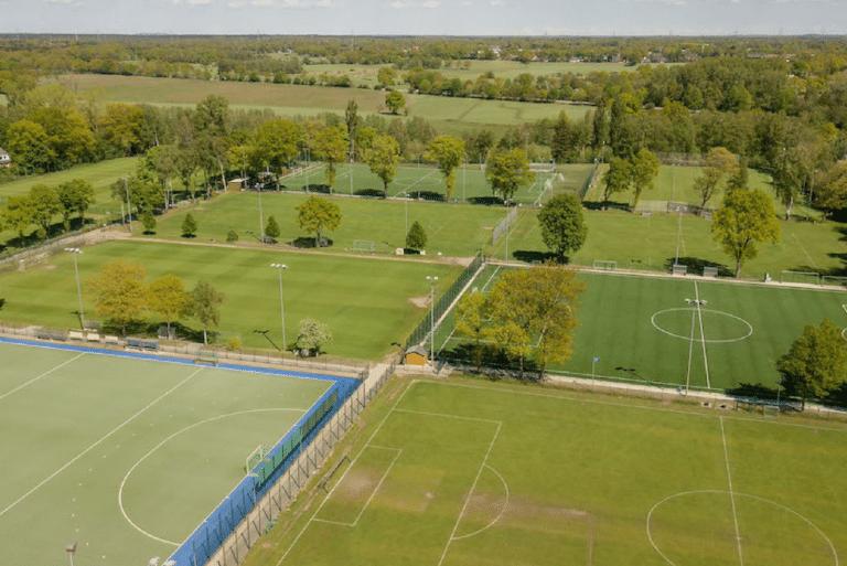 D'excellents emplacements en herbe pour nos tournois Ballfreunde